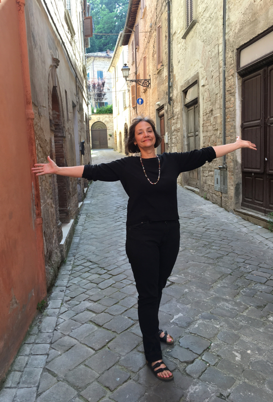 Liz living in Italy