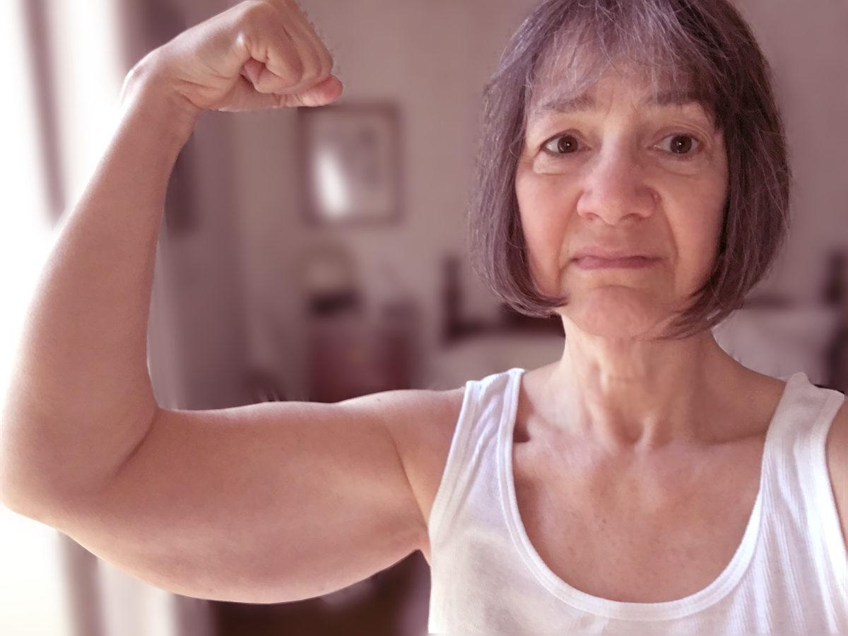 Liz's pitiful triceps